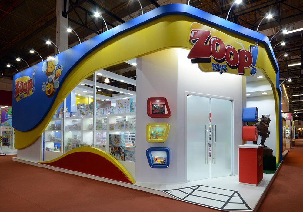 Estande Zoop Toys
