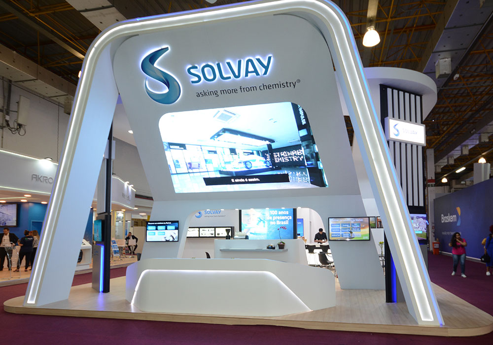 Estande Solvay